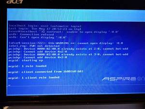 Bash - Acer Aspire One