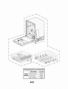 Lg Ldf7551bb Dishwasher Parts