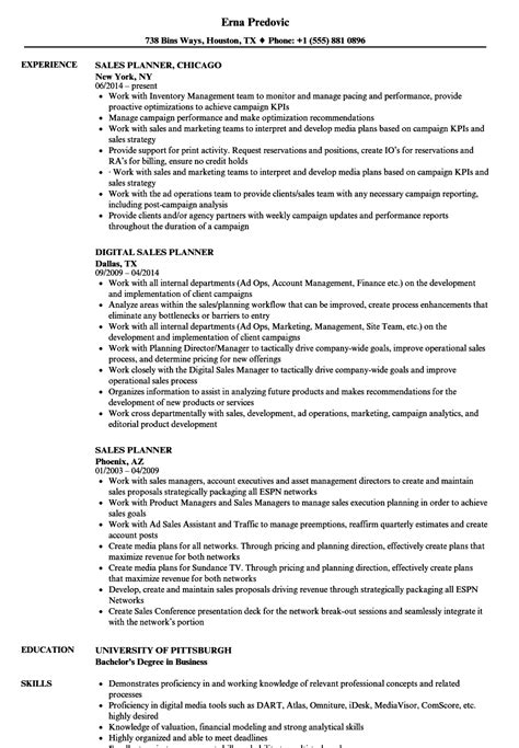 Media Planner Resume by Resume Sales Pittsburgh Sales Manager Resume Sle