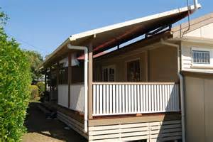 Mobile Home Deck with Roof