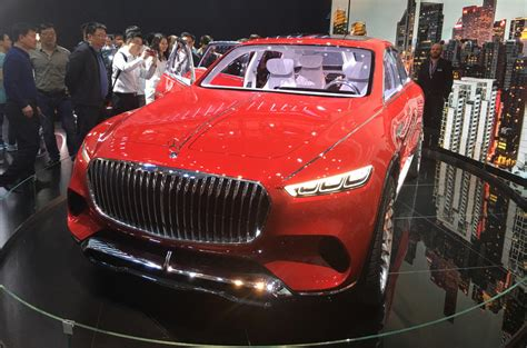 Mercedes-maybach Vision Ultimate Luxury Electric Suv