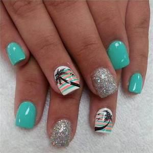 55+ Most Beautiful Acrylic Nail Paint Design Ideas