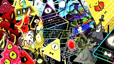Bill Cipher all forms Wallpaper by z3llychan on DeviantArt