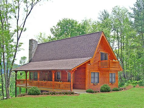log cabin home floor plans  square feet     bedrooms loft  large porch