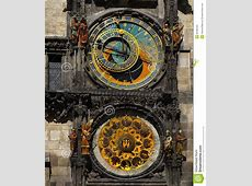 Astronomical Clock, Prague, Czech Republic Editorial Image