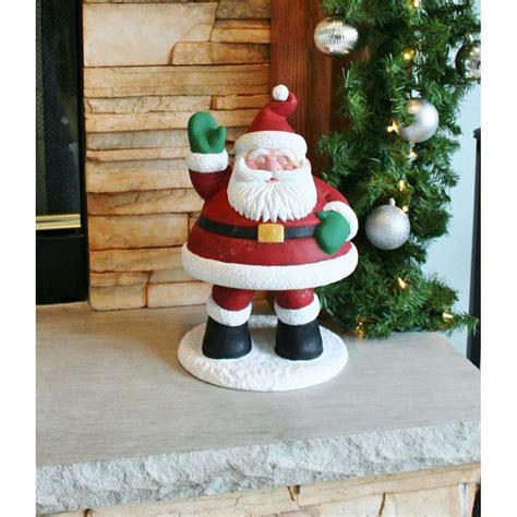 "Design House 155"" Santa Bobble Lawn Holiday Christmas"