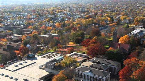 Tufts University Autumn Aerial Views - Medford/Somerville ...