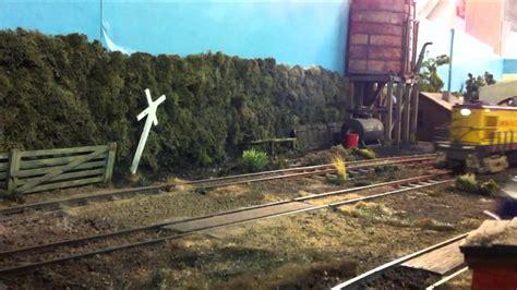 Model Train Crash With Vw Camper #1