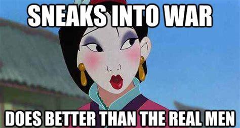 Mulan Memes - mulan makeup running mugeek vidalondon