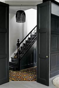 Porte Interieur Grise : le gris anthracite en 45 photos d 39 int rieur ~ Mglfilm.com Idées de Décoration