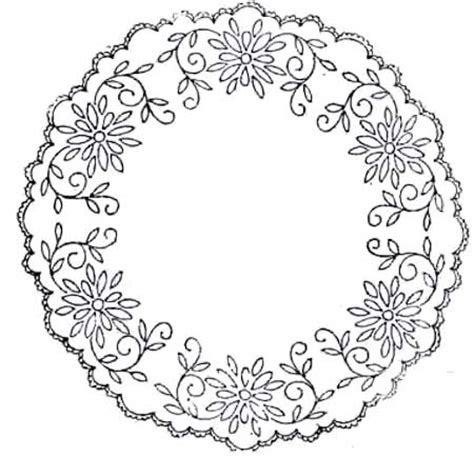 It's meant for ecclesiastical embroidery, but you can. Free vintage hand embroidery patterns - Pintangle