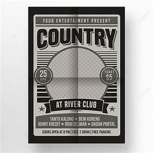 Country, Music, Poster, Poster, Template, For, Free, Download, On