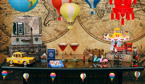 Travel, International & World Countries Party Theme