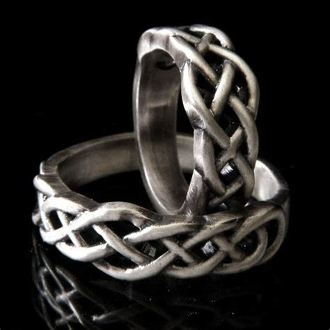 celtic knot wedding band 925 sterling silver wedding ring his and hers wedding bands