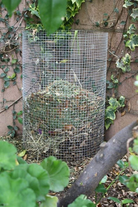 wire mesh composter diy projects
