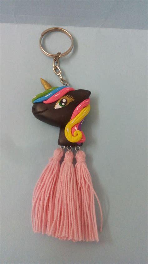 llavero de unicornio en porcelana fr 237 a o pasta 65 00 en mercado libre