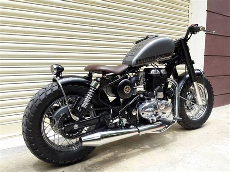 Modification Royal Enfield by Royal Enfield Modified Royal Enfield School Bulleteer