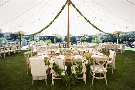 burlap covered furniture wedding design ideas for both bare and covered reception