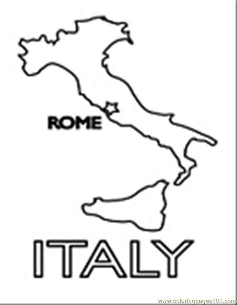 Coloring Italy by Italy Coloring Page Coloring Home