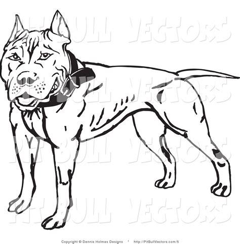 pit clipart black and white pitbull black and white clip 20