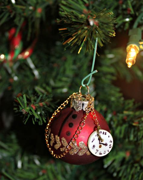 diy steampunk christmas tree ornaments recollections blog