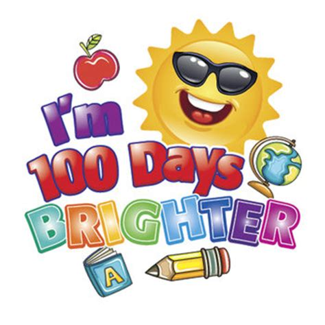 100th Clipart Day School
