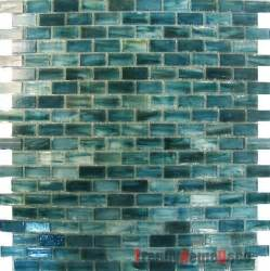 sample blue recycle glass mosaic tile backsplash kitchen