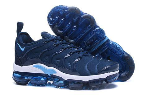 nike air vapor max  tn tpu running shoes deep blue