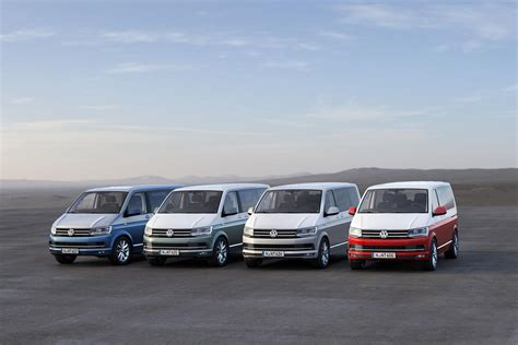 All-new Volkswagen Transporter T6 Unveiled