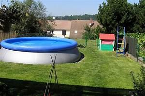 aménagement piscine autoportée enterrée
