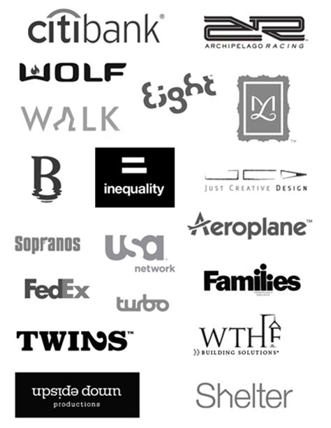 Law Firm Typeface Logos - Unleashing the Creativity