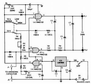 Dvm Capacitance Meter Adapter