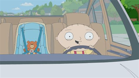Stewie Crashes Brian S Car by Stewie Goes For A Drive Family Wiki Fandom Powered