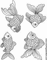 Coloring Ocean Pages Fish Adult Sea Printable Colouring Adults Patterns Seascape Animals Colorpagesformom Books Goldfish Sheets Magic Realistic Stencil Animal sketch template