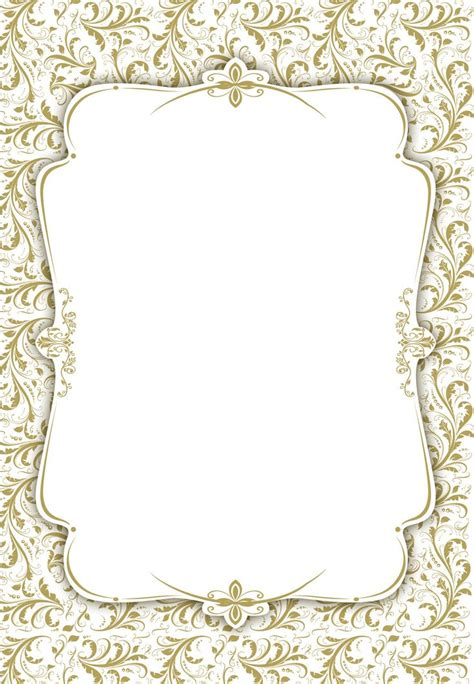 Blank Invitation Templates bravebtr