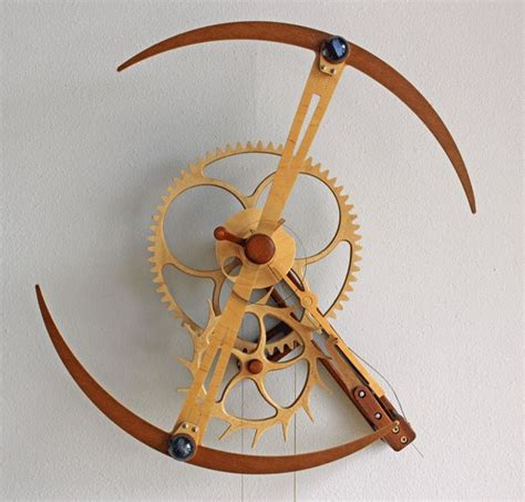 wooden gear clock plans   woodworking projects plans