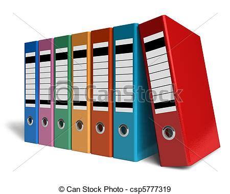 bureau rang banque de photographies de couleur dossiers bureau rang