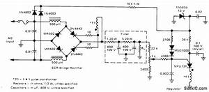 80 V At 15 A For Color Tv - Power Supply Circuit