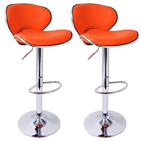 chaise de bar avec dossier woltu 503 1x tabouret de bar réglable en hauteur chaise de bar en similicuir avec dossier 10