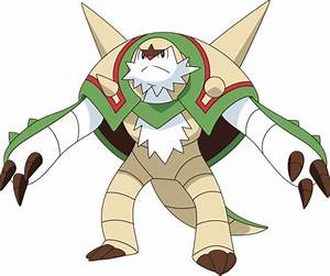 pokemon y chesnaught images