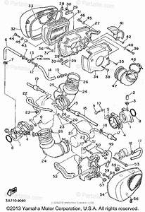 Yamaha Motorcycle 1995 Oem Parts Diagram For Intake