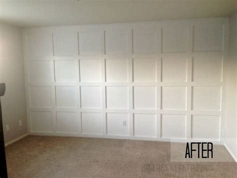 Wainscoting Square Panels by Board Batten Squares Batten Squares And Board