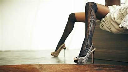 Heels Wallpapers Heel Legs Stockings Desktop Backgrounds