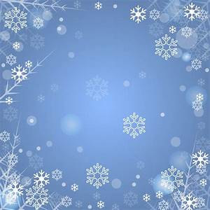 Blue winter background with snowflakes Free Download ...