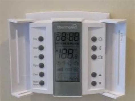 problem with thermonet underfloor heat controller youtube