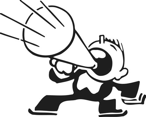 megaphone clipart megaphone outline clipart cliparting