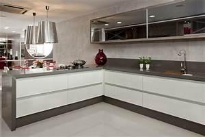 Silestone Cemento Kitchen - Contemporary - Kitchen