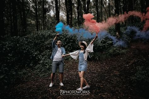 foto foto pre wedding outdoor  ranca upas jasa foto