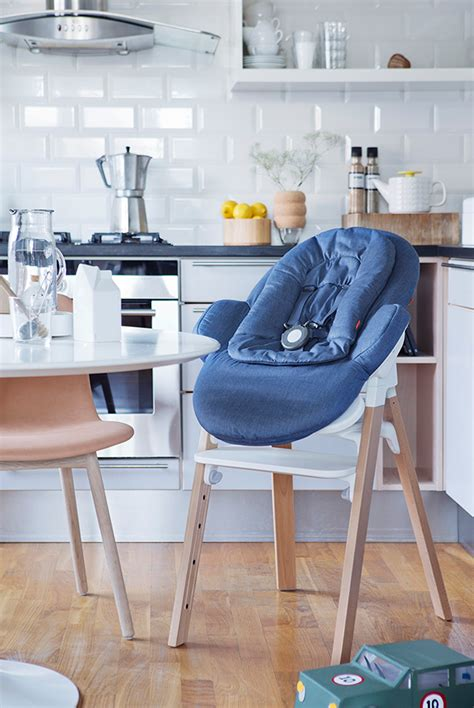 chaise steps stokke the only highchair you ll need yanko design