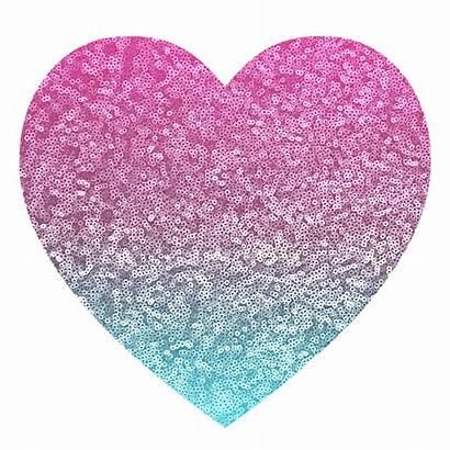 Glitter Pink Sparkle Heart Pixabay Wallpapers Shiny